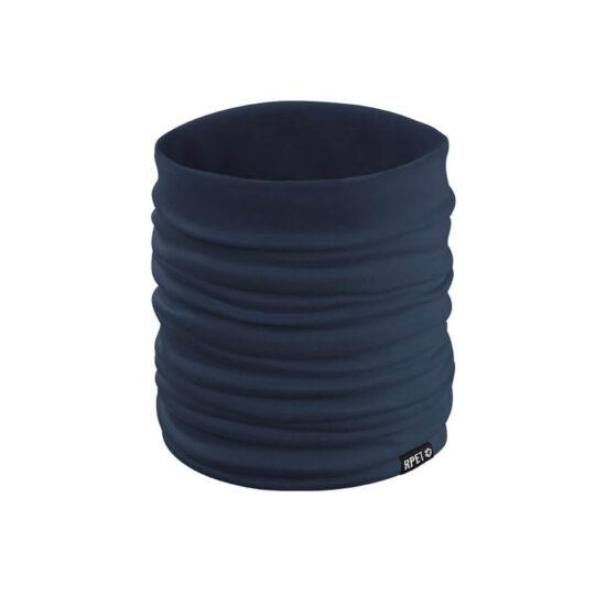 aquecedor de pescoço de rpet azul