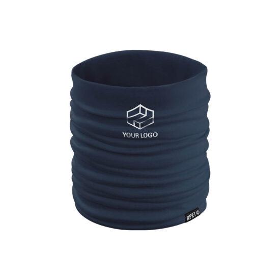 aquecedor de pescoço de rpet preto personalizado