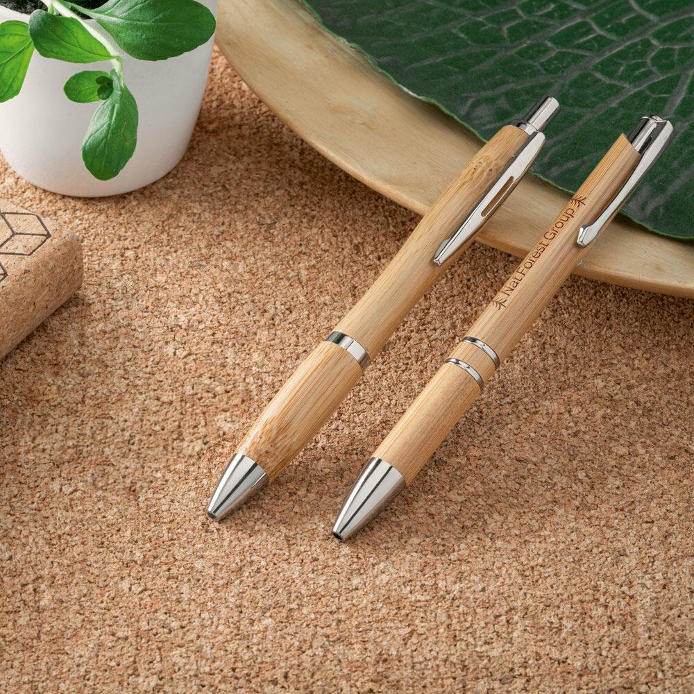 canetas-metal-bambu