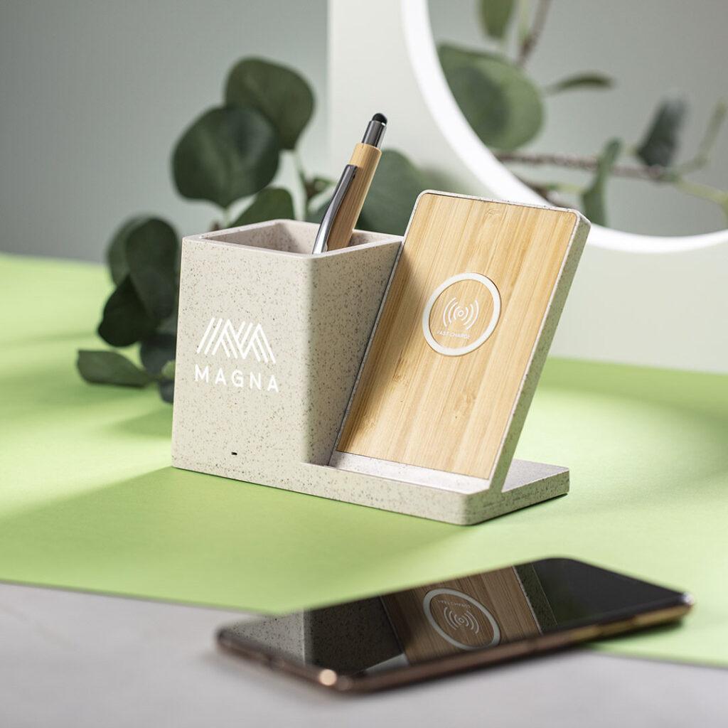 porta-canetas-carregador-palha-trigo-bambu