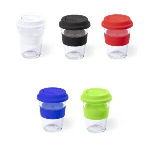 cores de copos de vidro de 350 ml