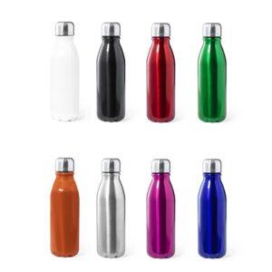 cores de garrafas de alumínio de 550 ml