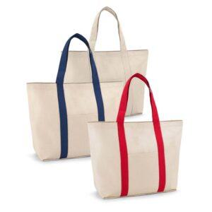 cores de saco de praia de algodão com bolso