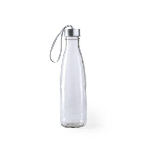 garrafa de vidro de 610 ml com pega para transporte