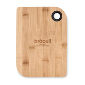tábua de cozinha de bambu personalizada