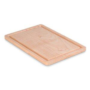 tábua de corte de cozinha em madeira