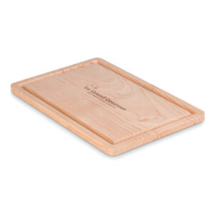 tábua de cozinha de madeira personalizada