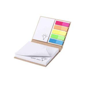 bloco de notas adesivas coloridas personalizadas