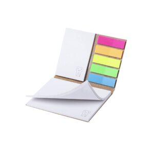 bloco de notas adesivas coloridas personalizado