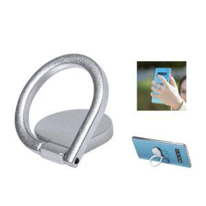 suporte metálico para telemóvel com anilha para dedo