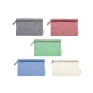 cores de necessaires de algodão reciclado