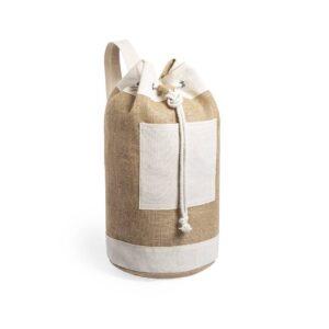 saco de desporto de juta e algodão