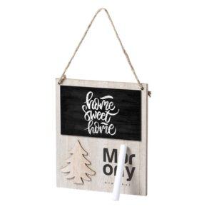 quadro magnético de madeira natalício personalizado