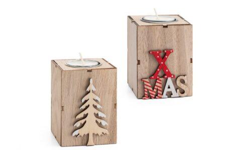 suportes para velas natalícios