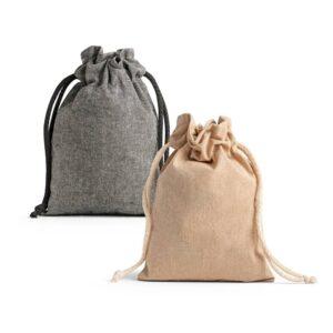 cores de sacos para lembranças de algodão reciclado