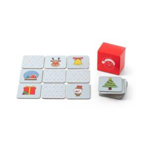 jogo da memória natalício em cartão